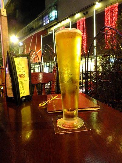 クアラルンプールで頼んだビール