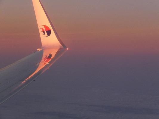 マレーシア航空のヒコーキ