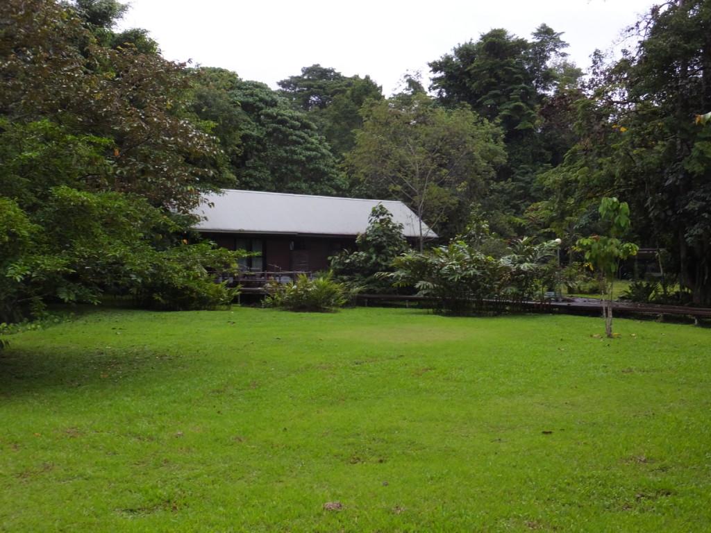 バンガロー建物 2014.2.13 グヌン・ムル国立公園