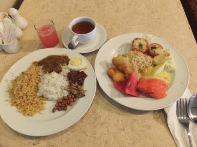 2014.2.14 ホテルの朝食 バイキング