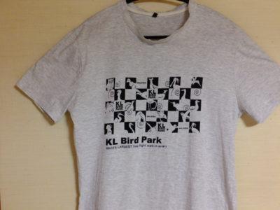 バードバークで買ったTシャツ