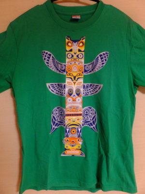 ボルネオ原住民のデザインTシャツ