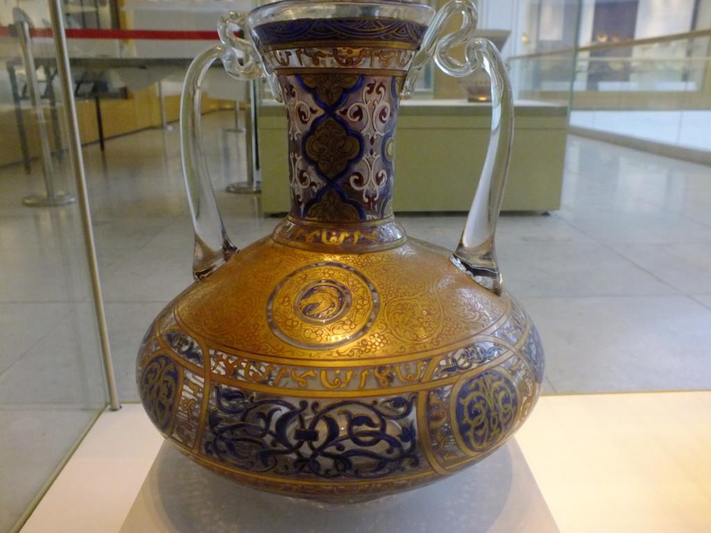イスラム柄の花瓶
