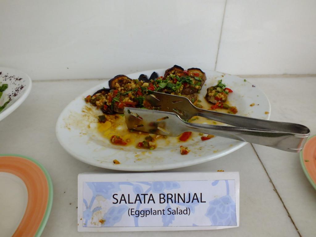 ナスのサラダ