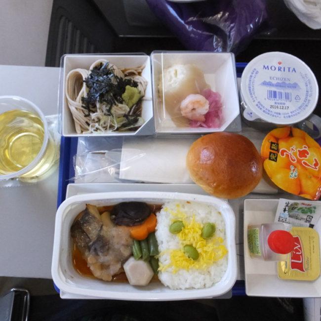 マレーシア航空の機内食 2014.2.10