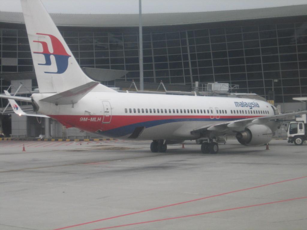 マレーシア航空 2013.1.13成田にて