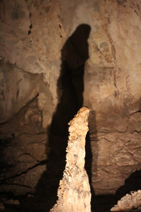 ウィンドウケイブの鍾乳石 グヌン・ムル国立公園 2012.7.26