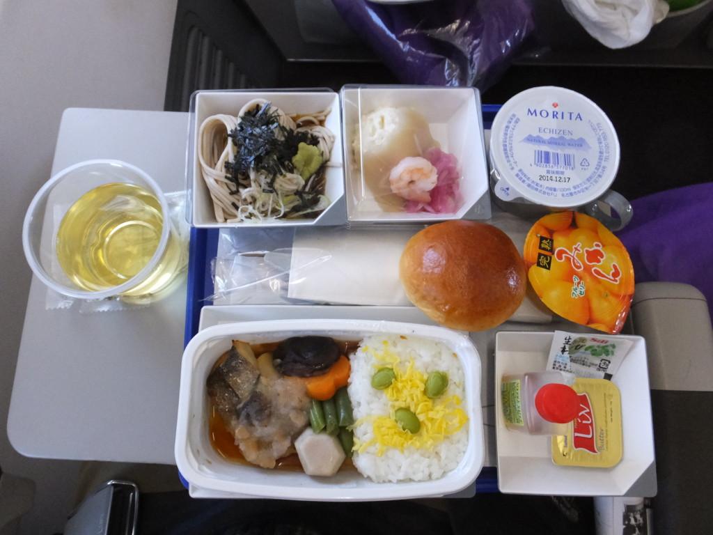 マレーシア航空機内食2104.2.10 成田⇒コタキナバル