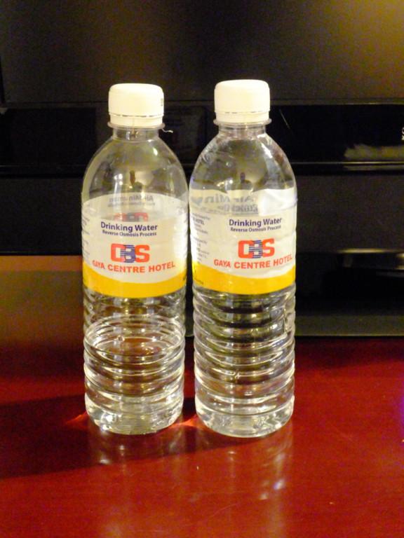 ペットボトルの水 2本 2017.2.13