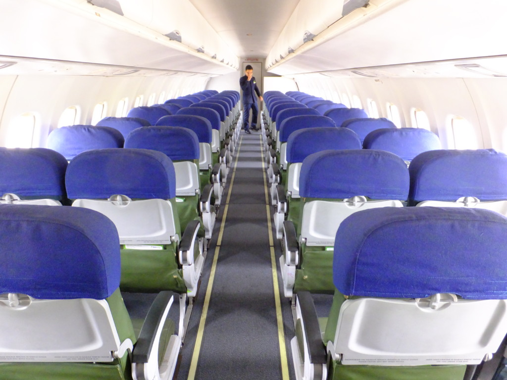 客室乗務員と空席 2017.2.16