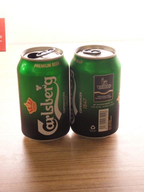 カールスバーグ 320ml缶 2017.2.16 クチン