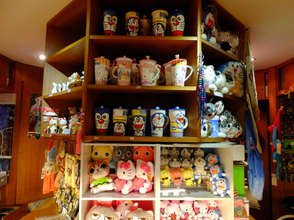 日本発のネコグッズ ネコ博物館