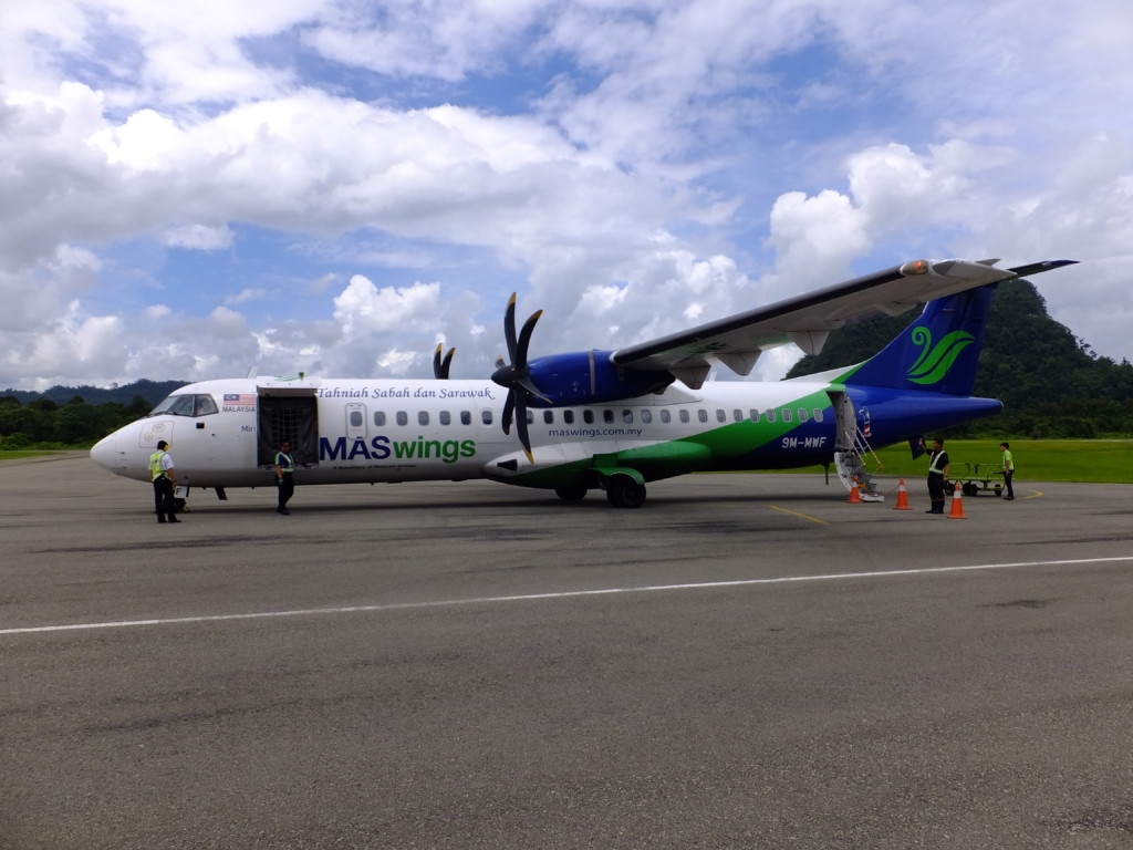 ATR72-500 マスウィング 2017.2.14 コタキナバル