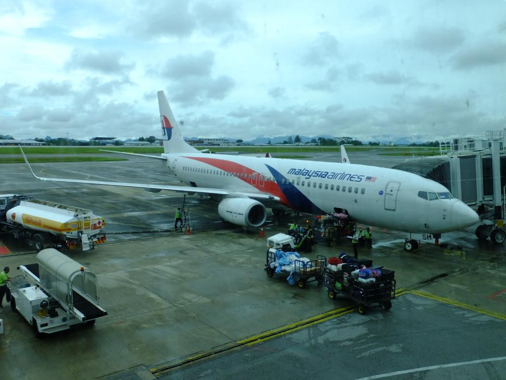 B737-800 マレーシア航空 2017.2.18 クチン
