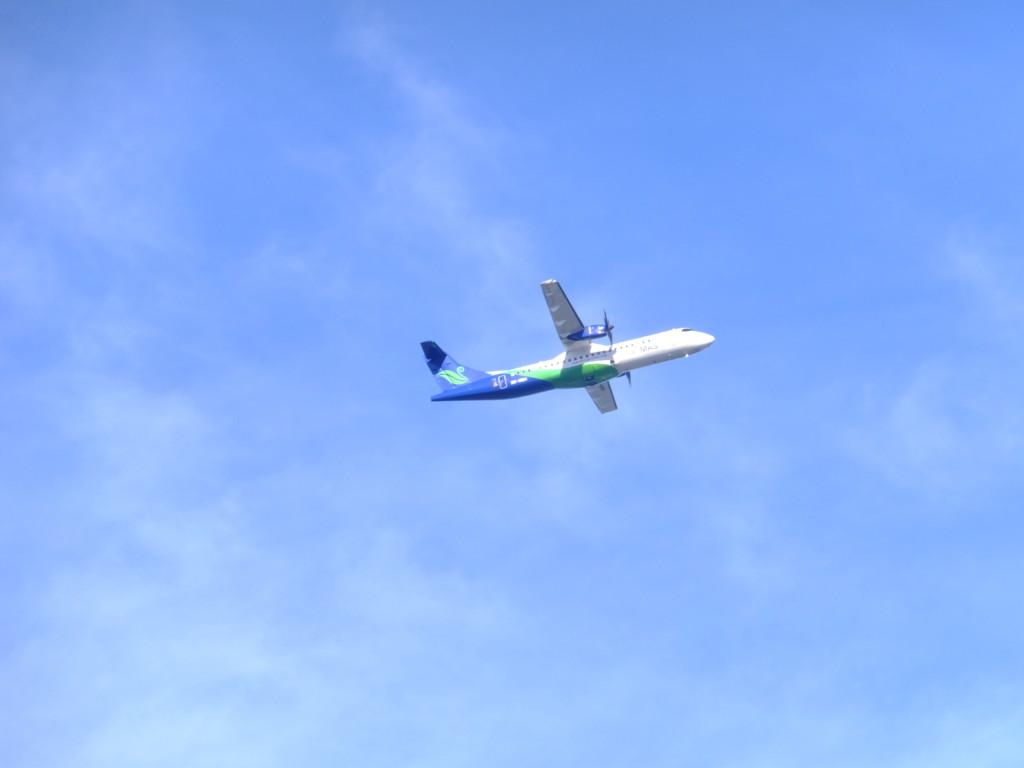ATR72-500 マスウィング 2017.2.19 コタキナバル上空
