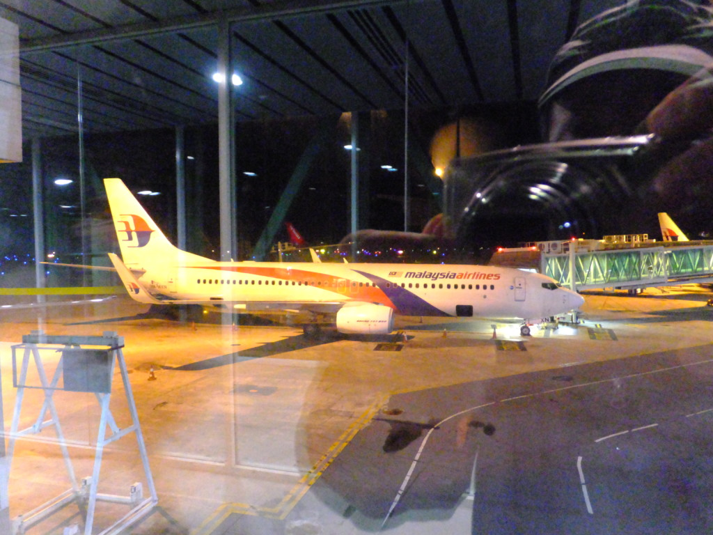 B737-800 マレーシア航空 2017.2.20 コタキナバル