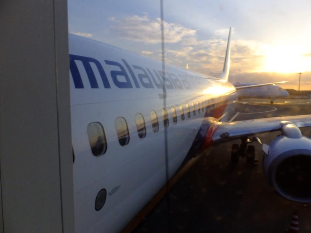 B737-800 マレーシア航空 2017.2.20 成田