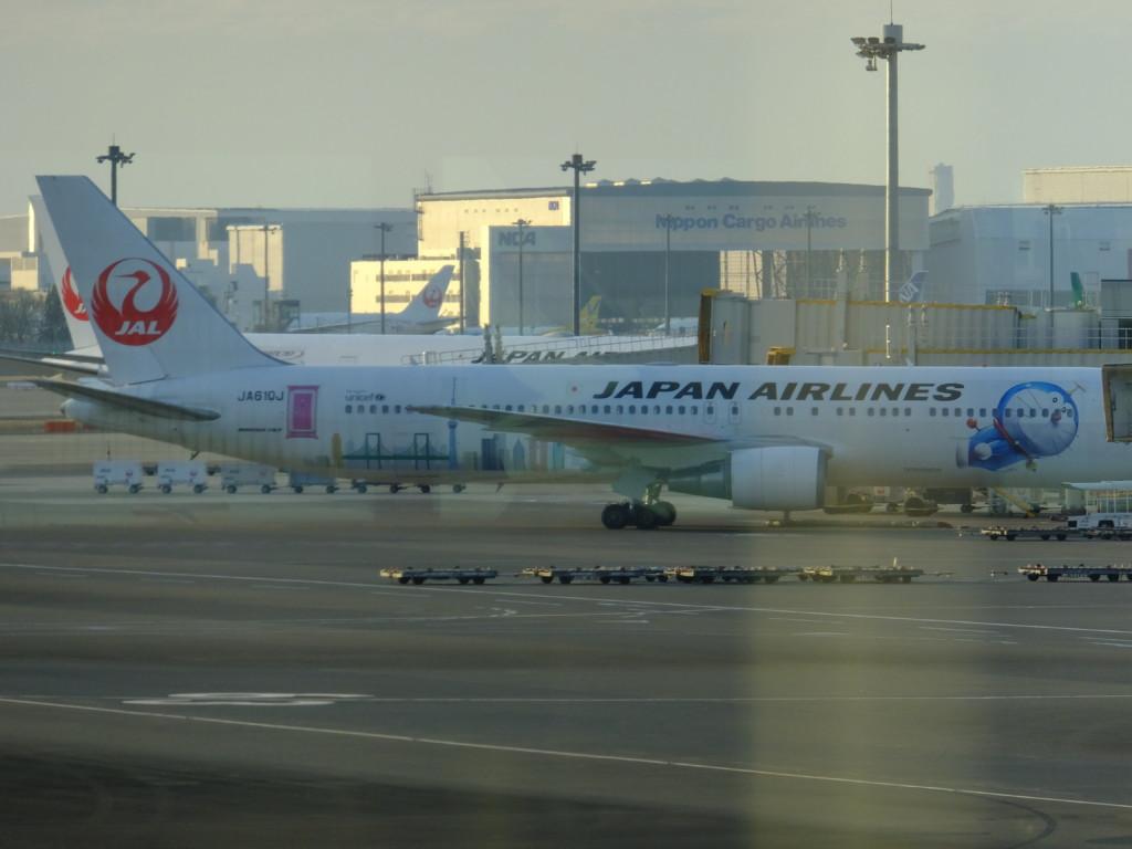 B767 日本航空 ドラえもん 2017.2.20 成田