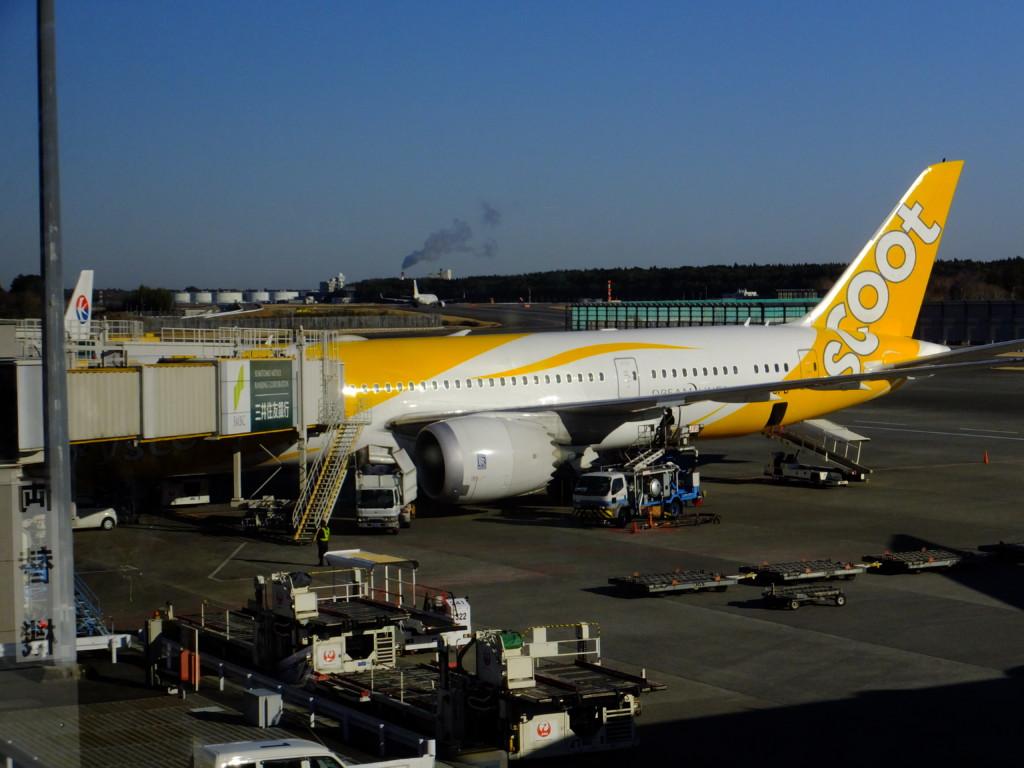 B-787 スクート 2017.2.13 成田