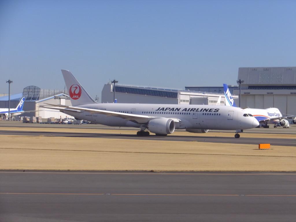 B-787 日本航空 2017.2.13 成田