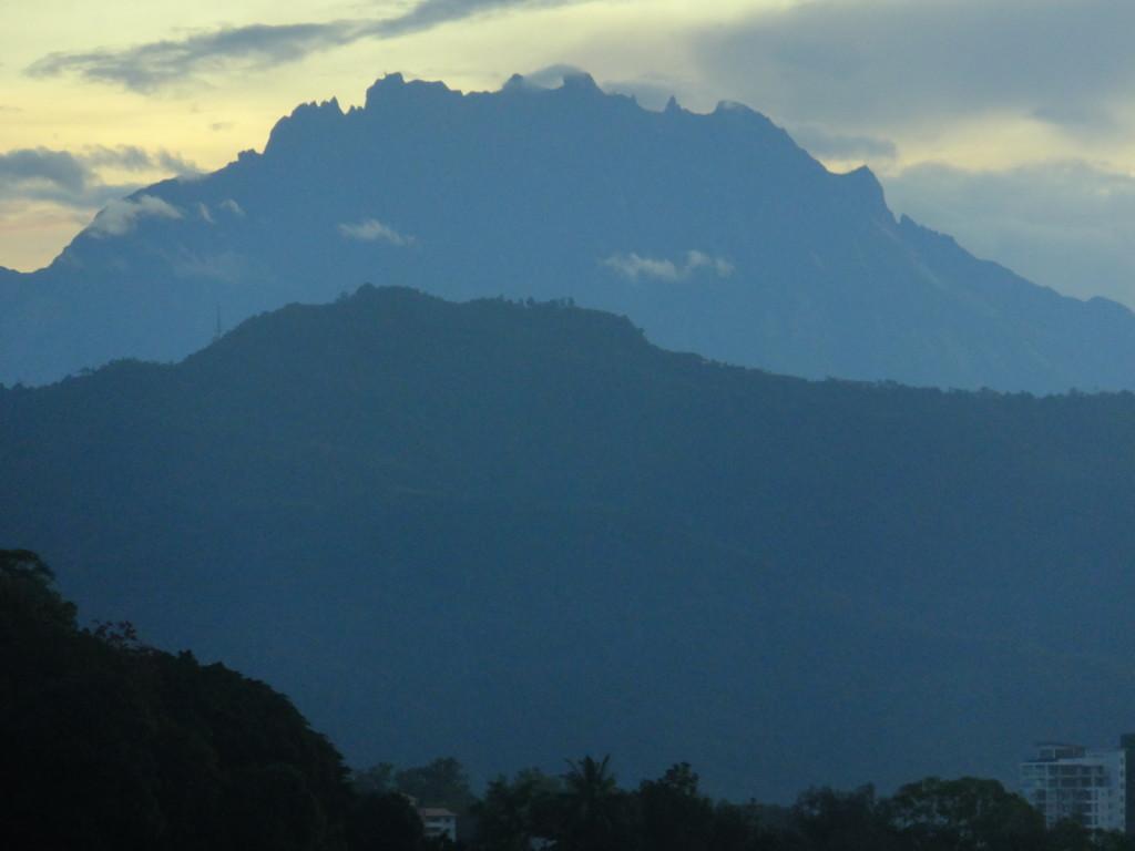 キナバル山 2017.2.19 6:30