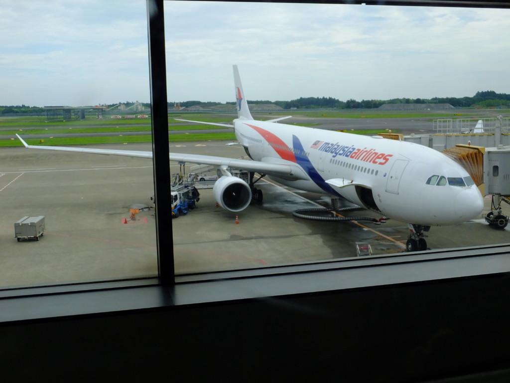 成田発クアラルンプール行き A330-300