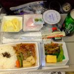 マレーシア航空 成田発クアラルンプール行き直行便の機内食 ビーフシチューおいしい2017.7.2