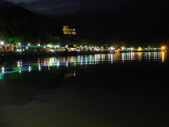 サラワク川夜景