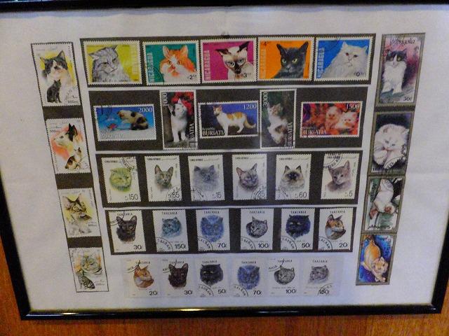 ネコの切手