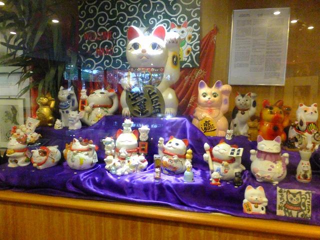 日本のまねき猫