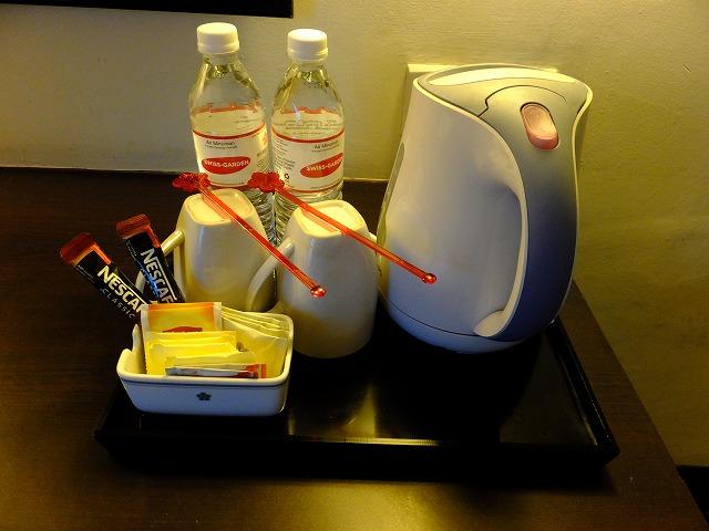 スイスガーデンホテルの飲み物