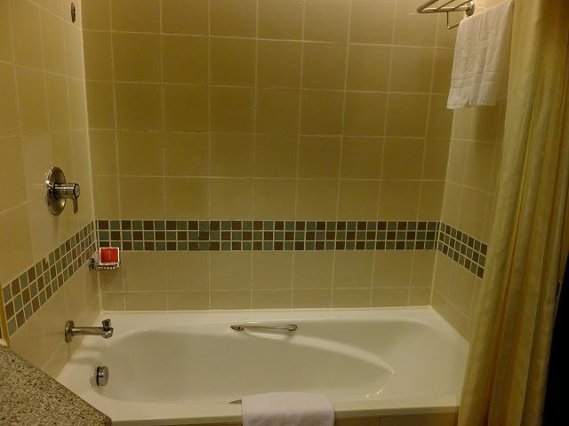 スイスガーデンホテルの浴槽