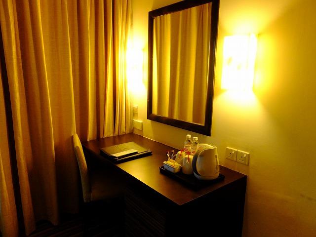 スイスガーデンホテルの部屋
