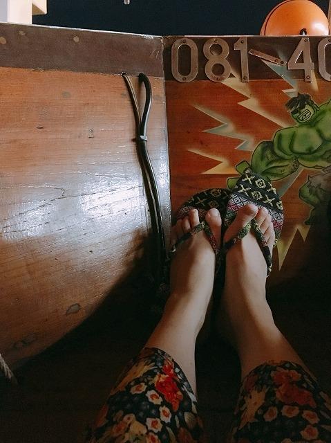 タイ バンコクのサンダル