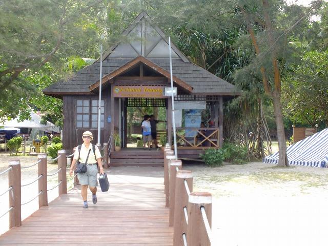 マムテック島の入口