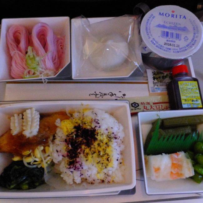 MH-81 機内食 2017。2.13