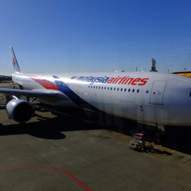 B737-800 マレーシア航空 2017.2.13 成田