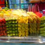 クアラルンプールのショッピングモール内でトロピカルフツーツ 食べてみた 味は???